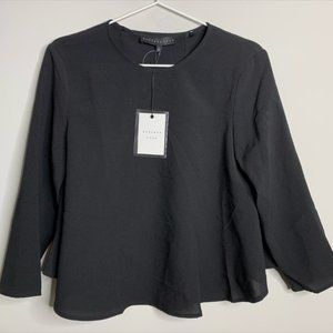 Resolve Endless Rose Top NWT black size S